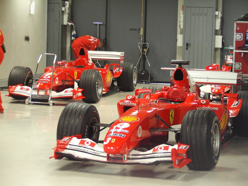 Ferrari Stands - Monza