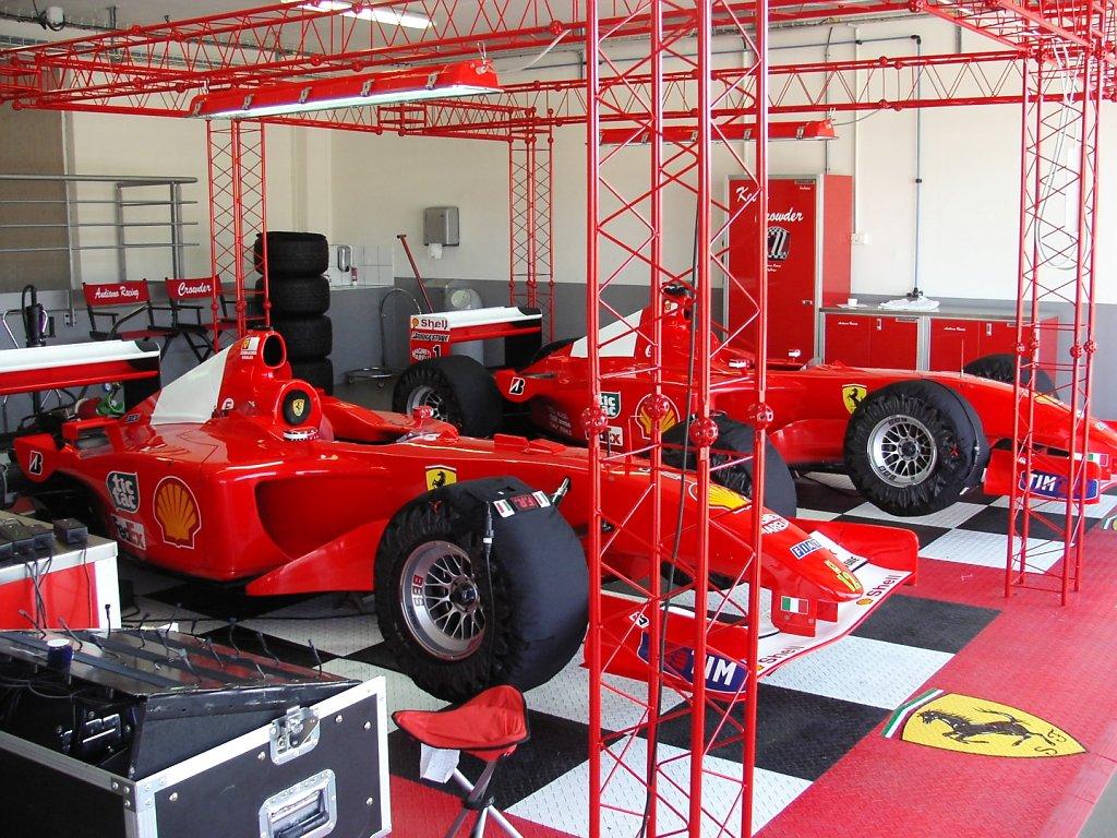 Ferrari Stands - Le Castellet